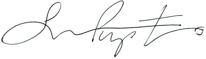 Susan Piperato signature