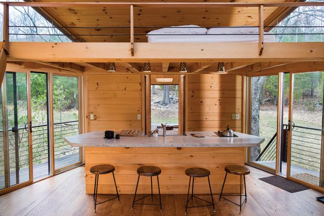 inhabit air bnb treehouse
