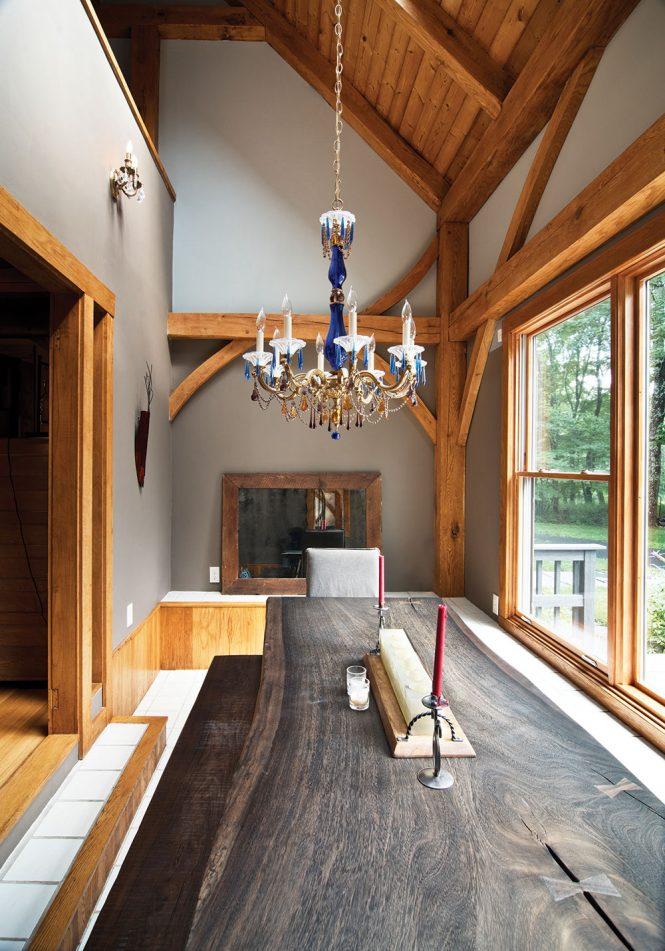 saugerties contemporary log cabin