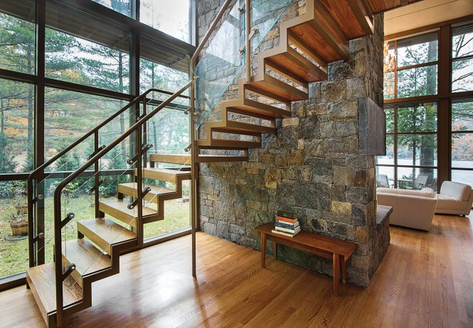 Bolton New York home designed by Phinney design group