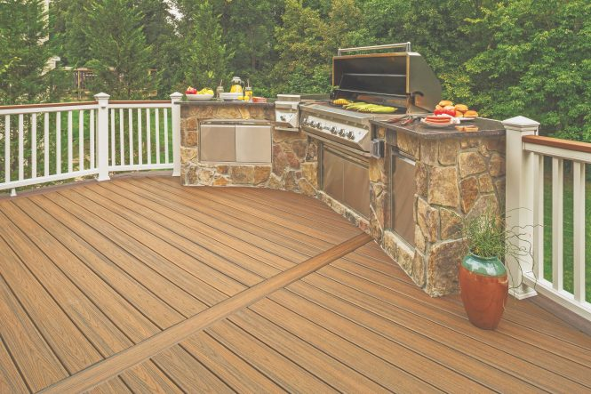 Trex Transcend Decking Grill Patio